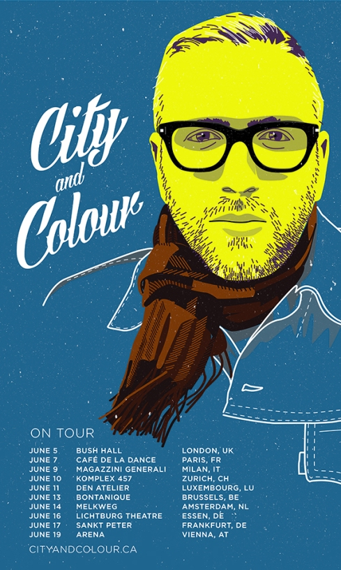 Tourposter City and Colour