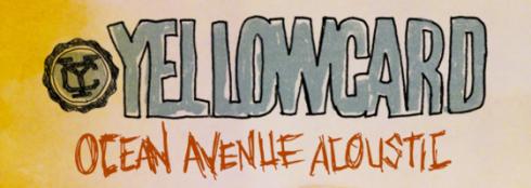 banner Yellowcard Ocean Avenue
