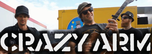 banner Crazy Arm