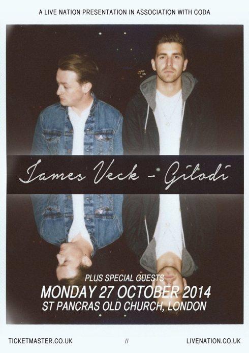 James Veck-Gilodi show London