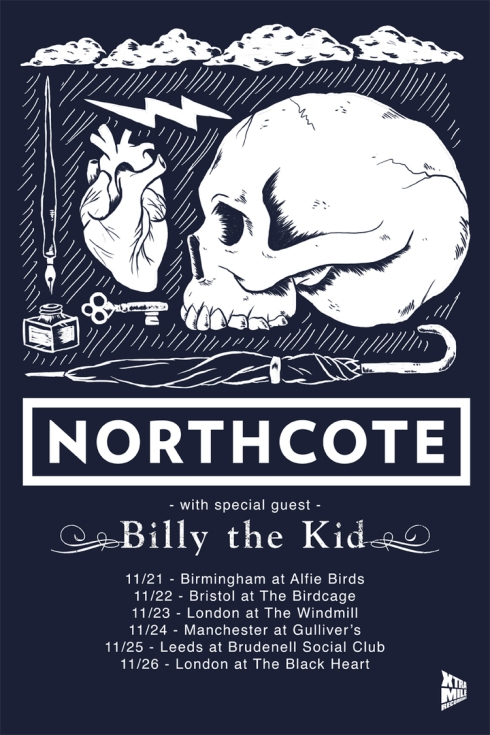 Northcote UK tour Billy the Kid