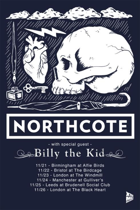 Northcote UK tour Billy the Kid