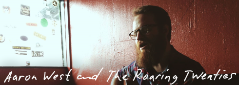 banner Aaron West and the Roaring Twenties