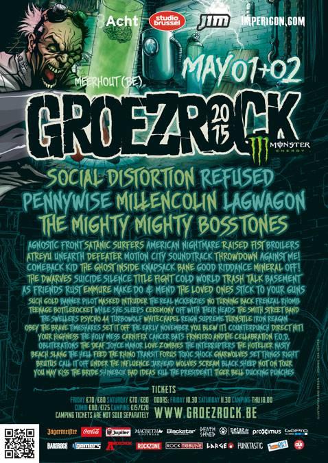 Groezrock flyer 2015