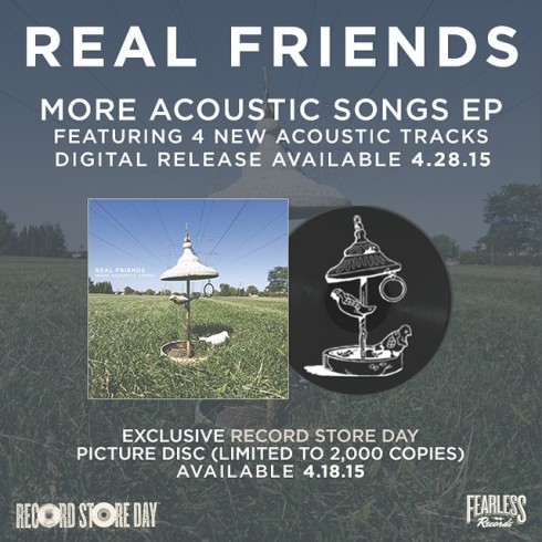 Real Friends - More Acoustic Songs announcement