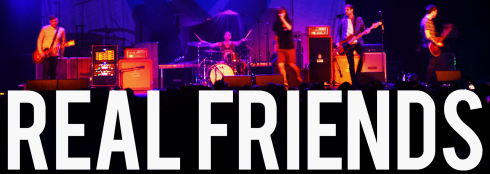 banner Real Friends live